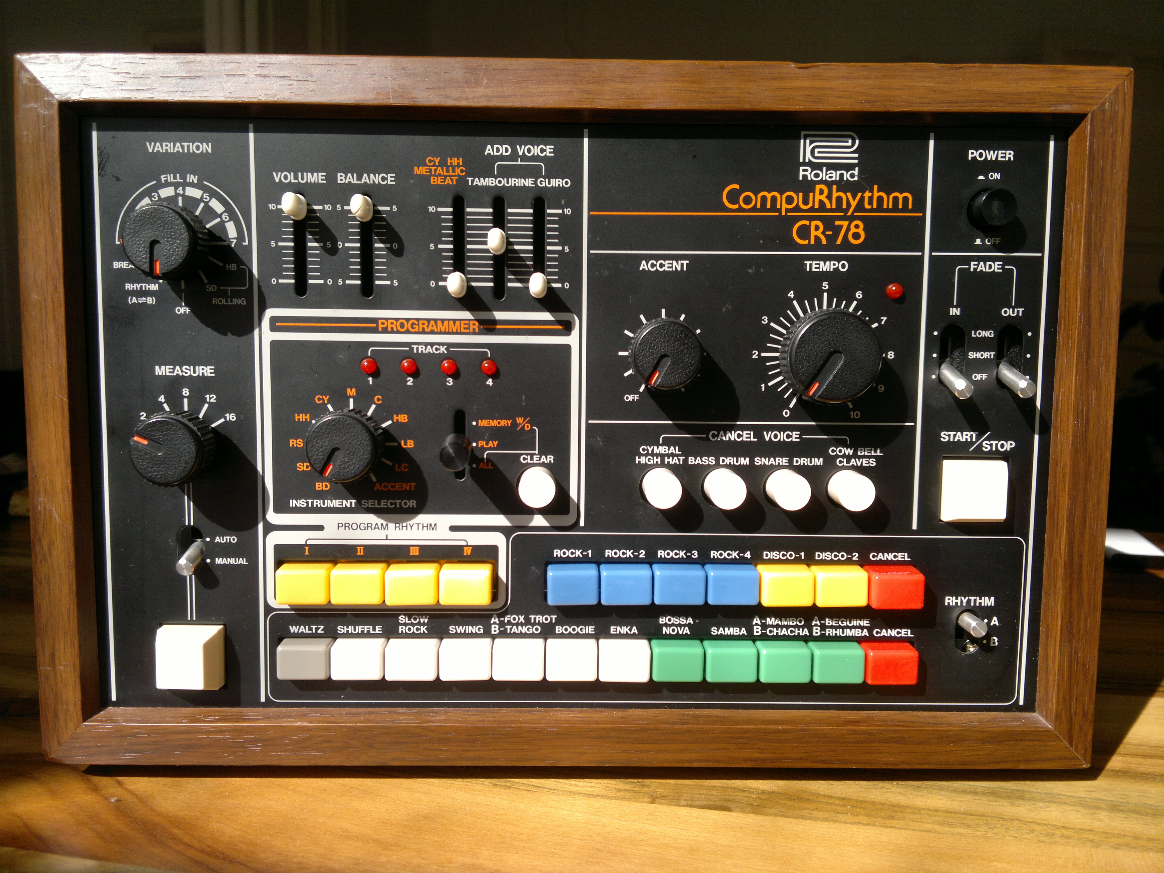 cr 78 drum machine