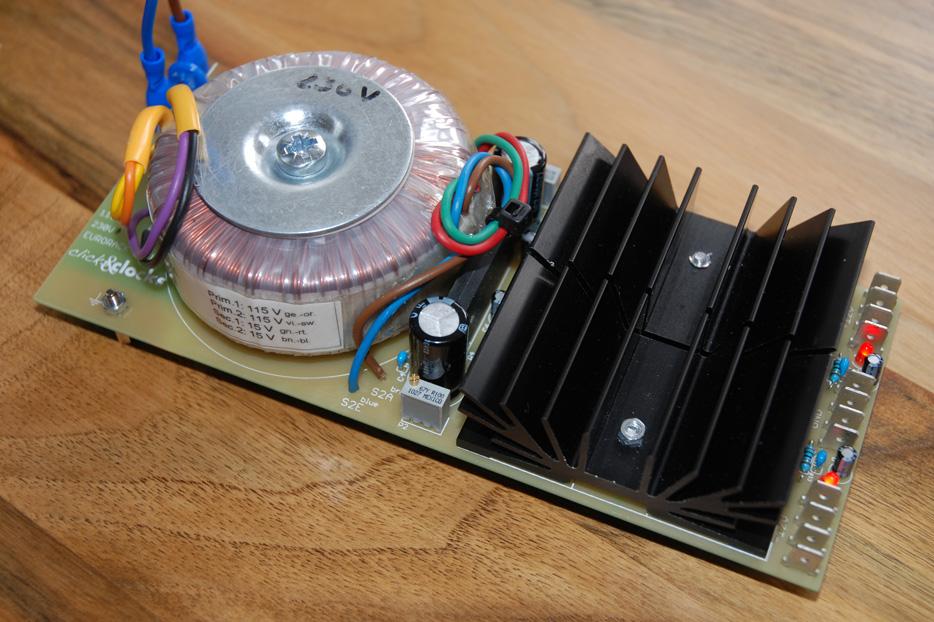 Diy Eurorack The Power Supply Psu Prototype