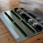 ClicksClocks Eurorack console case panels components arrangement