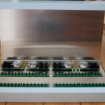 ClicksClocks Eurorack console case components arrangement total
