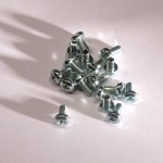 Eurorack DIY Materials: Phillips Pan Head Screws, M3 x 6 mm, DIN7985