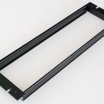 Eurorack DIY Materials: Clicks and Clocks 3U 19 inch Frame, Black Edition