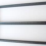 Eurorack DIY Materials: Clicks and Clocks 6U Frame, Black Edition
