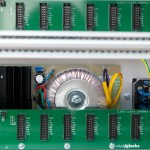 ClicksClocks 19 inch Eurorack - PSU Busboard Detail