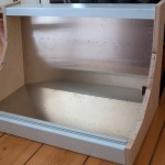 ClicksClock Eurorack console case with wooden side wings