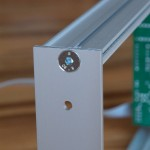 ClicksClocks Eurorack 3U side panel assembled