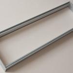 Eurorack DIY Materials: Clicks and Clocks 3U Frame, flexible width