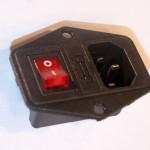 Eurorack DIY Materials: EN60320 C14 Mains Inlet