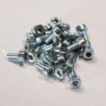 Eurorack DIY Materials: Hexagon Socket Head Cap Screw, zinc plated M3 x 6 mm