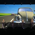 Kraftwerk performing Autobahn during the 3D tour in Leipzig 8.12.2015