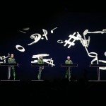Kraftwerk performing Musique Nonstop during the 3D tour in Leipzig 8.12.2015